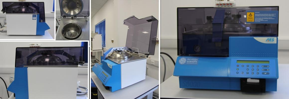 Second hand laboratory equipment: media preparators